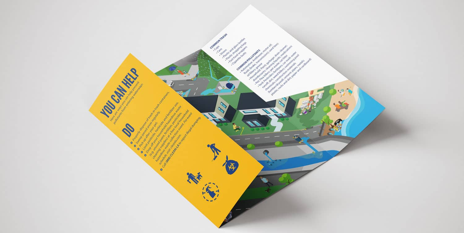 Trifold Brochure Side